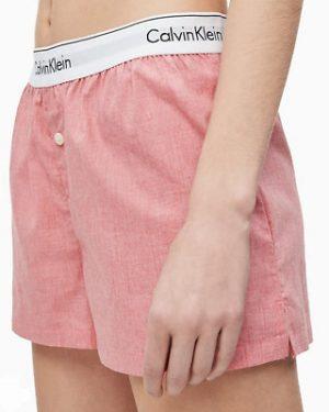 Calvin Klein Sleep Shorts Vaaleanpunainen