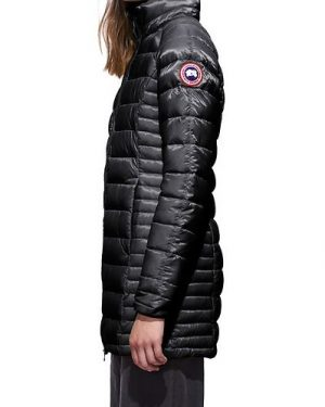 Canada Goose Brookvale Light Down Coat Musta