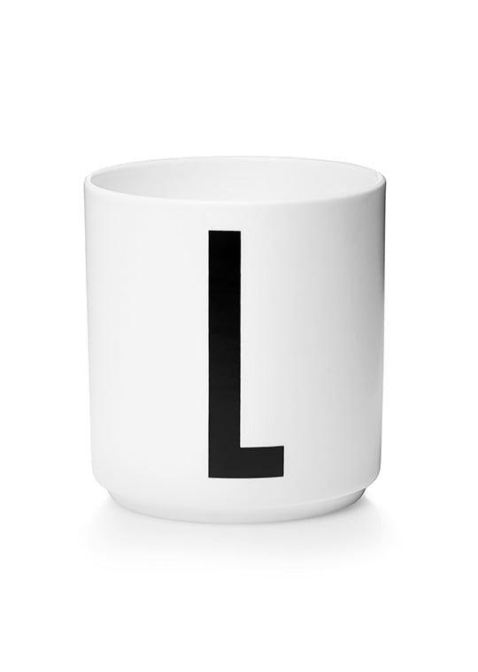 Design Letters Kuppi L Valkoinen