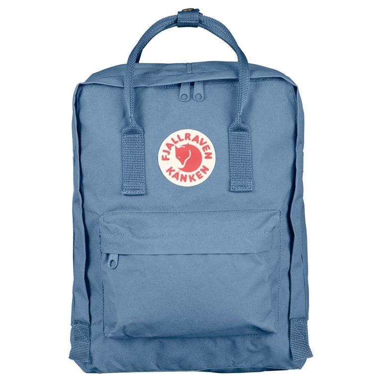 Fjällräven Kånken Backpack Blue rigide