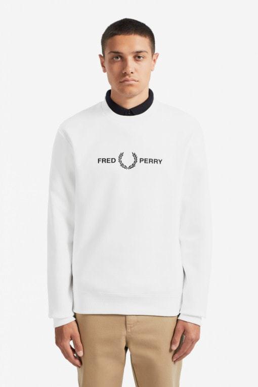 Fred Perry Graphic Sweatshirt Valk