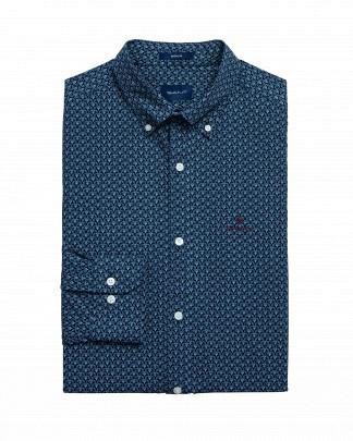 Gant Regular fit Micro print shirt