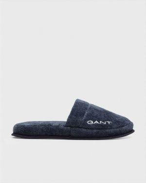 Gant Home Premium Velour Slippers Tumman Sininen