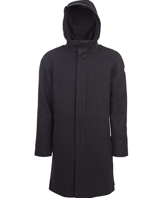 Nål Functional wool coat