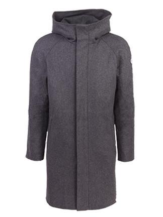 Nål Functional Wool Coat Halmstad Men Harmaa