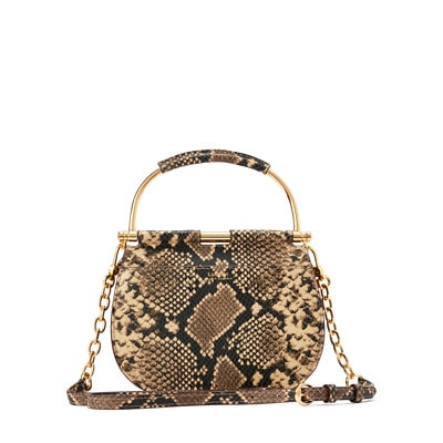 Lauren Ralph Lauren Mason Satchel Small Snake