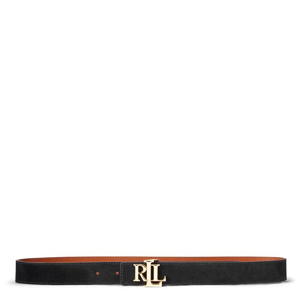 Lauren Ralph Lauren Reversible Belt Musta