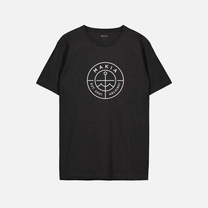 Makia Scope T-Shirt Musta