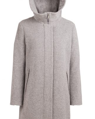 Nål Functional Wool Coat Harmaa