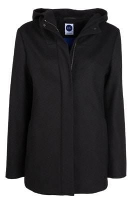Nål Parka Wool Jacket Women Musta