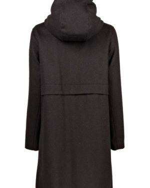 Nål Functional Wool Coat Women Musta