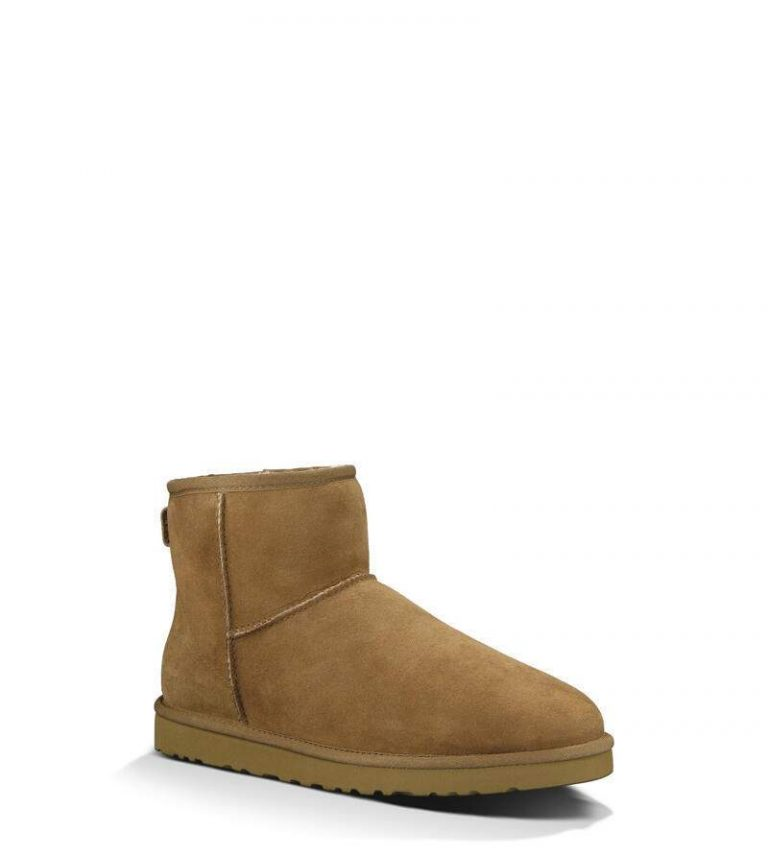 Ugg Men Classic Mini Chestnut Ruskea