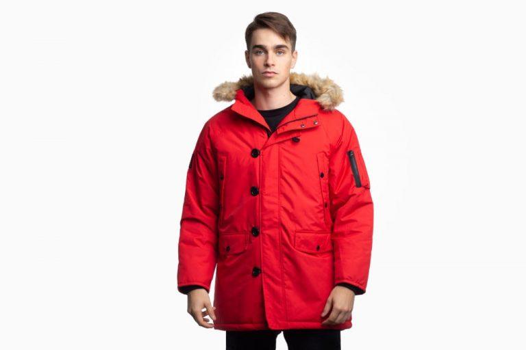 Billebeino Parka Coat Punainen