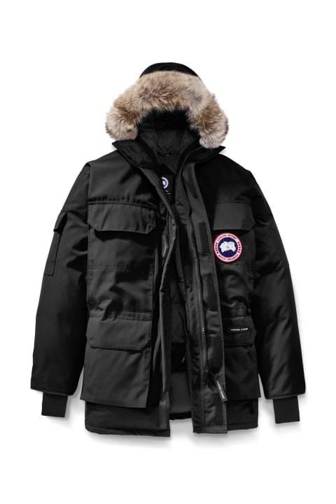 Canada Goose Expedition Parka Black Musta