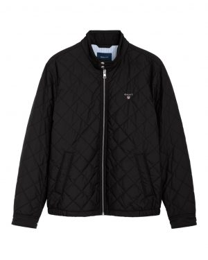 Gant O1. The Quilted Windcheater Musta