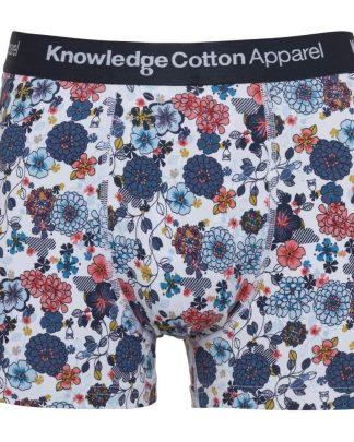 Knowledge 1 Pack Flower  Underwear Navy