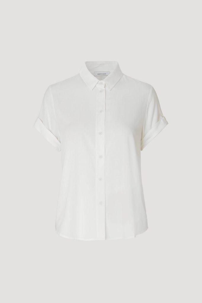 Samsoe&Samsoe Majan Shirt Luonnon Valkoinen
