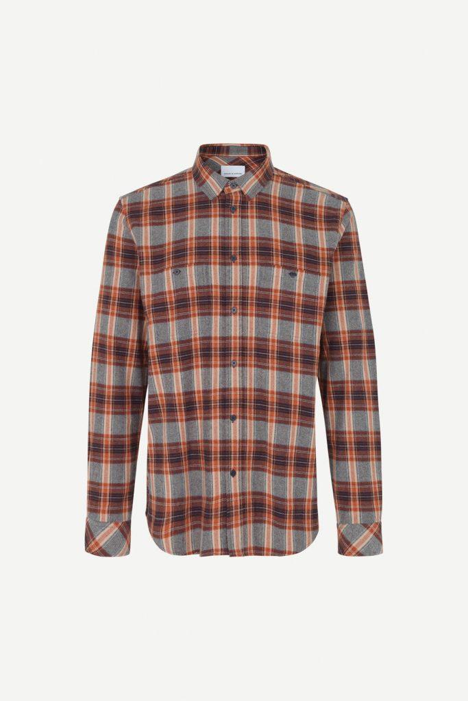 Samsoe&Samsoe Liam Nv Shirt 11040 Ruskea