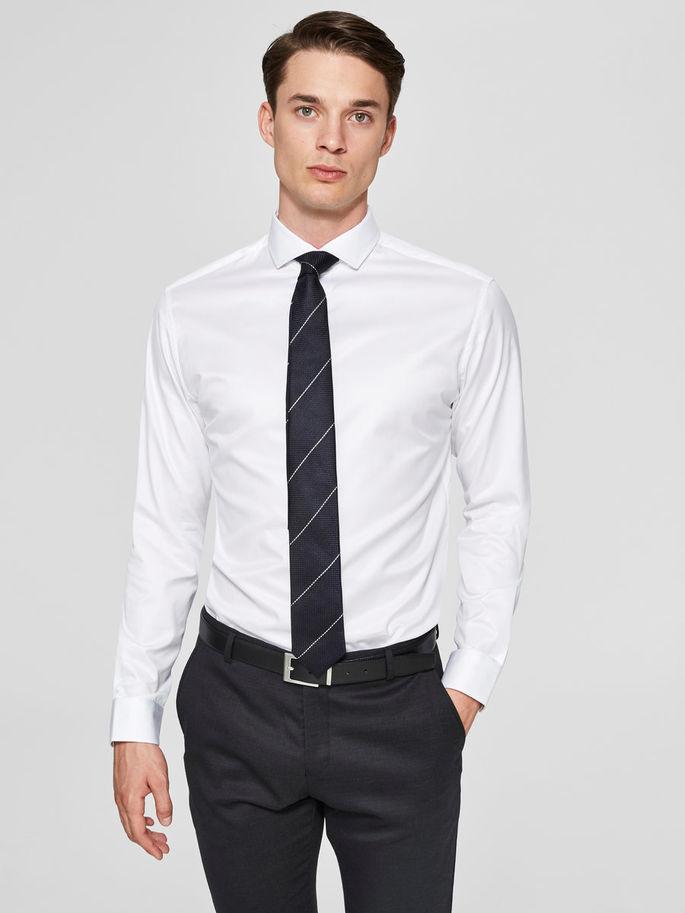Selected Slimsel-Pelle Shirt Ls Harmaa