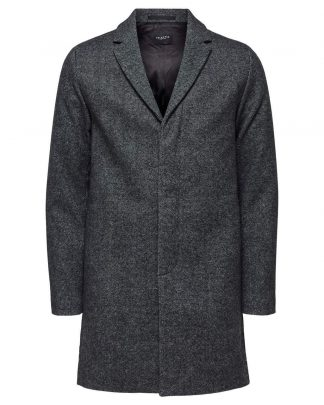 Selected Brove Wool Coat Harmaa
