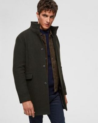 Selected Mosto Wool Coat