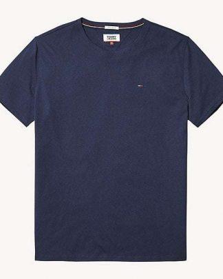 Tommy Jeans Original Tee O-Neck Tumman Sininen