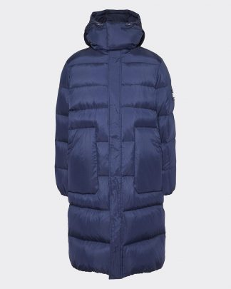 tommy jeans long padded jacket