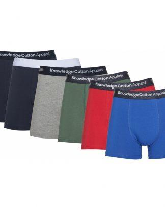 Knowledge Cotton Apparel Maple 6-Pack Underwear