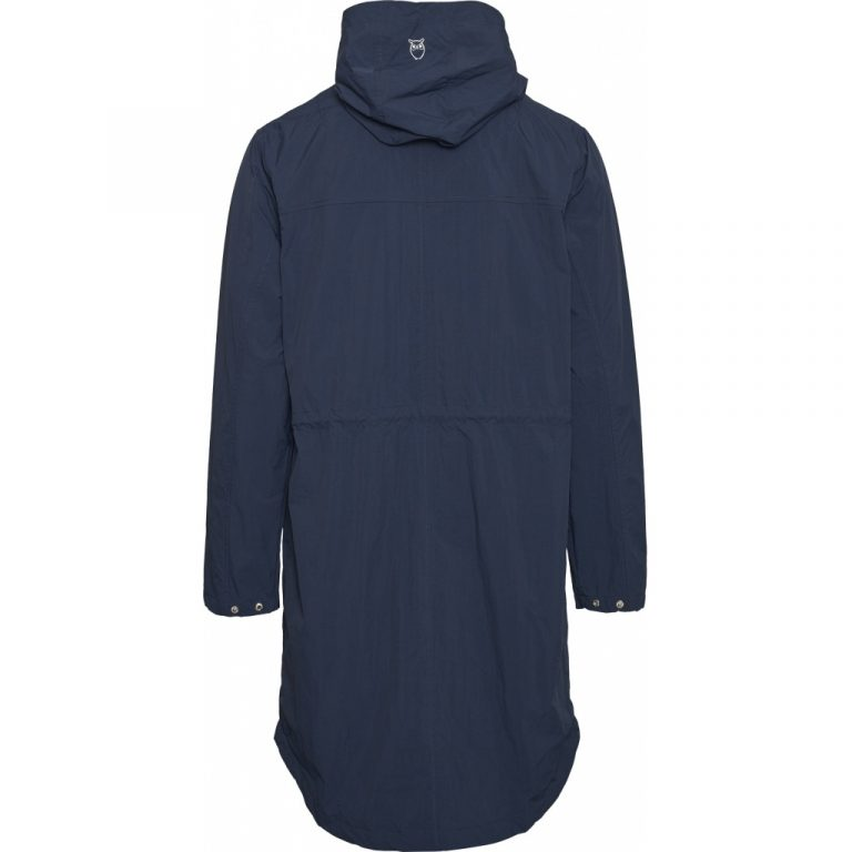 Knowledge Cotton Apparel Ocean Recycled Jacket Navy
