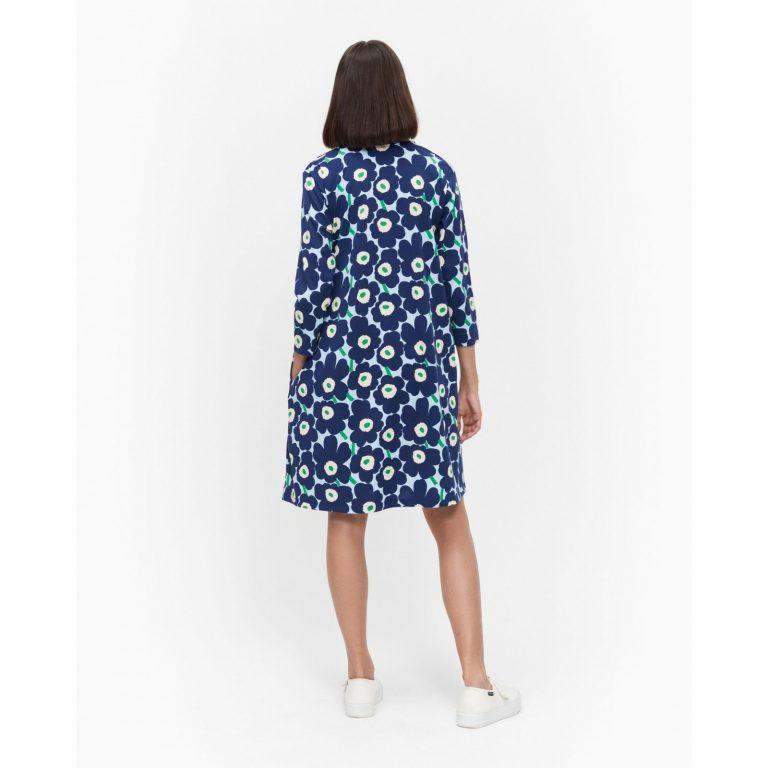 Marimekko Aretta Dress Unikko Sininen