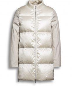 Beaumont Mid-season Coat Luonnonvalkoinen