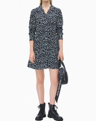 Calvin Klein Jeans animal printed dress