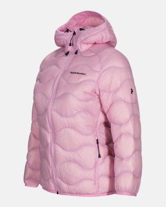 Peak Performance W Helium Hood Jacket Vaaleanpunainen