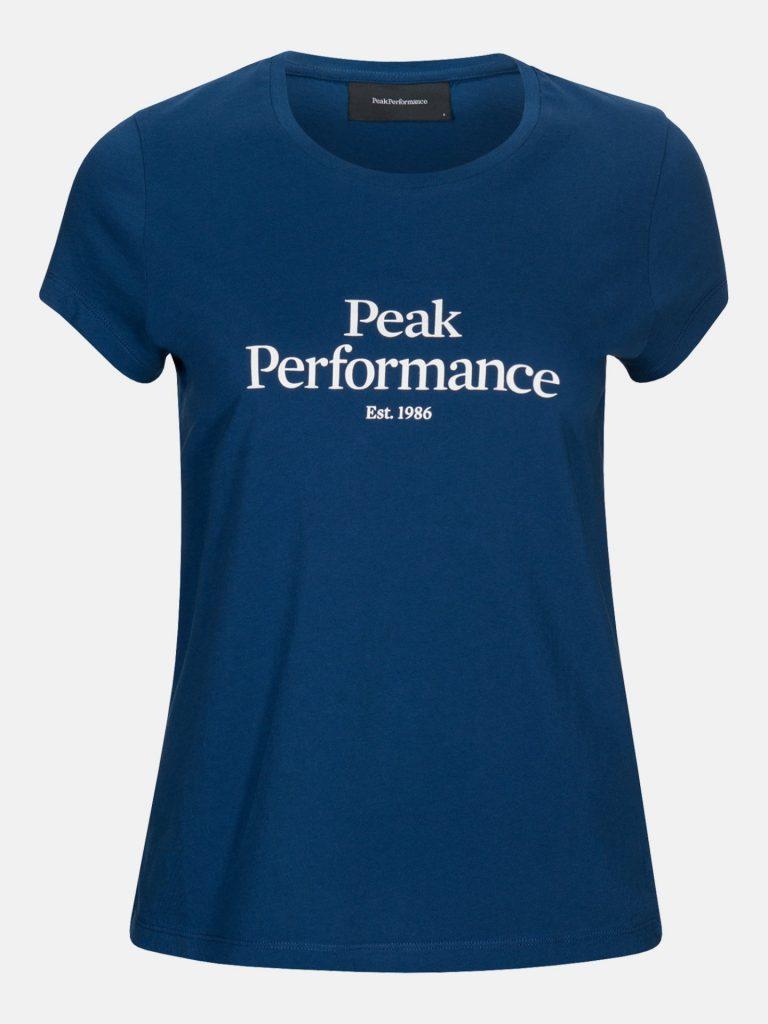 Peak Performance W Original Tee Sininen