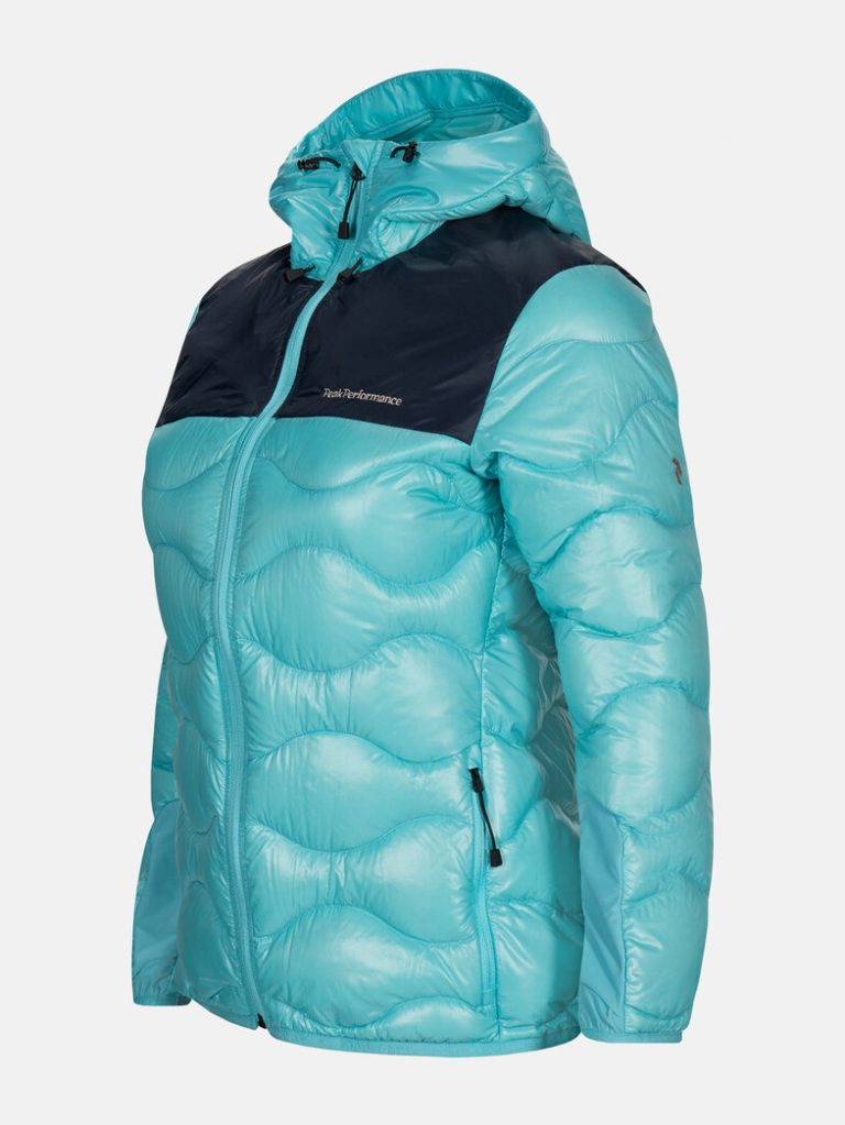 Peak Performance W Helium Glacier Jacket Turkoosi