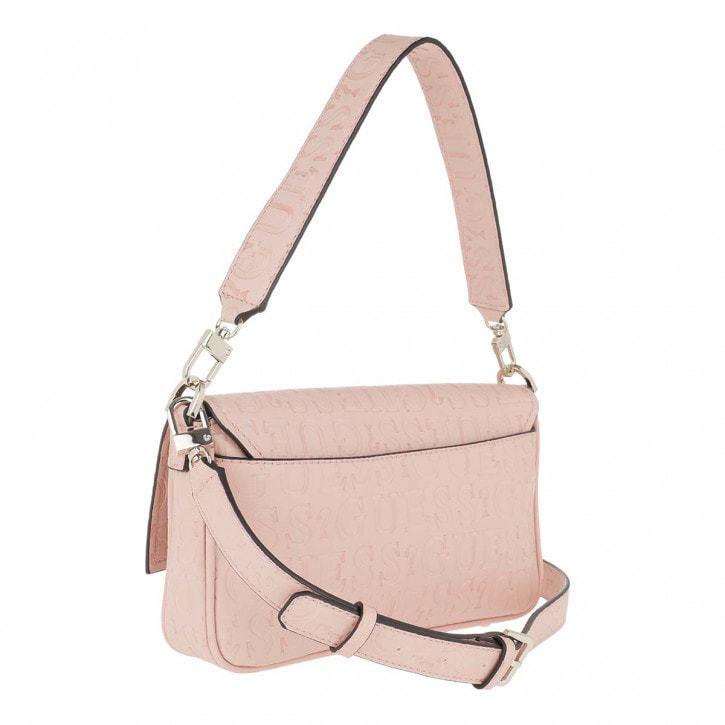 Guess Brightside Shoulder Bag Vaaleanpunainen