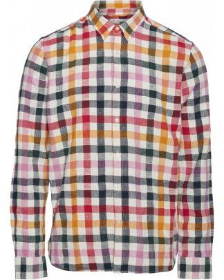 Knowledge Cotton Apparel Larch check shirt