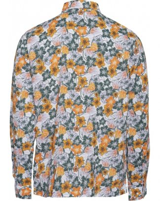 Knowledge Cotton Apparel Larch Flower shirt