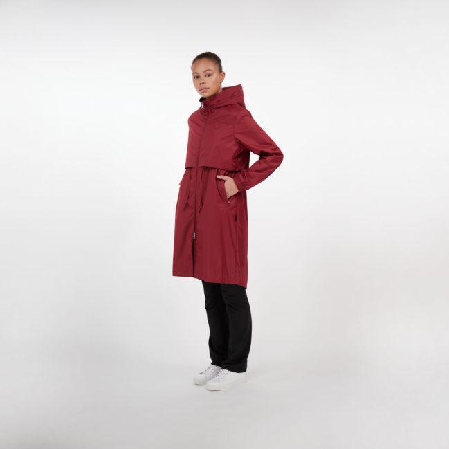 Makia Den Jacket Ruby