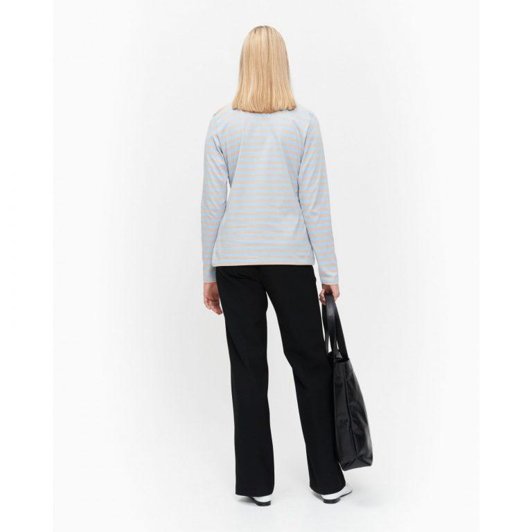 Marimekko Logo Mari Jersey Shirt Vaaleansininen