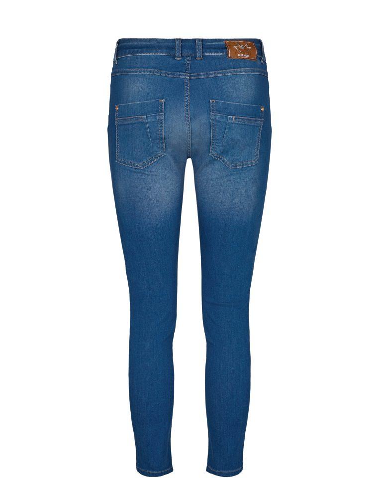 Mos Mosh Sharon Split Satin Jeans Sininen
