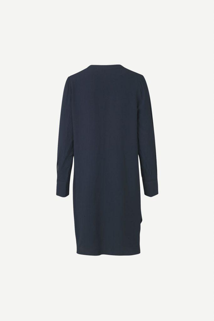 Samsoe&Samsoe Hamill V-neck Dress Tummansininen