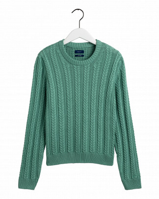 Gant cable knit crew