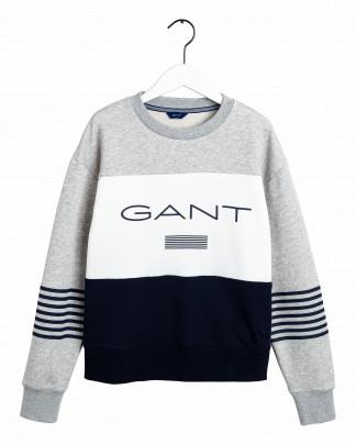 Gant striped crew neck