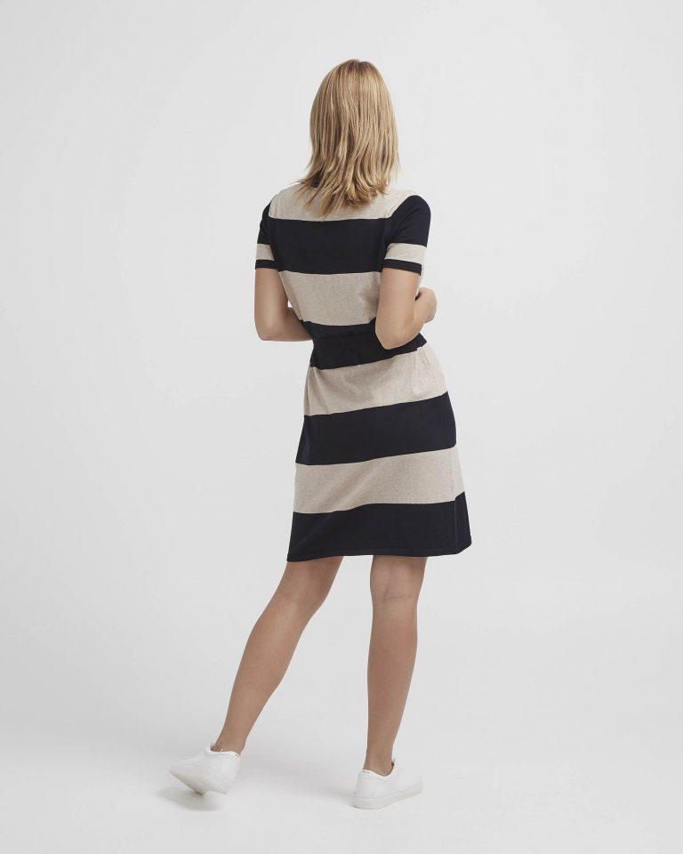 Holebrook Elly Tee Dress Tummansininen
