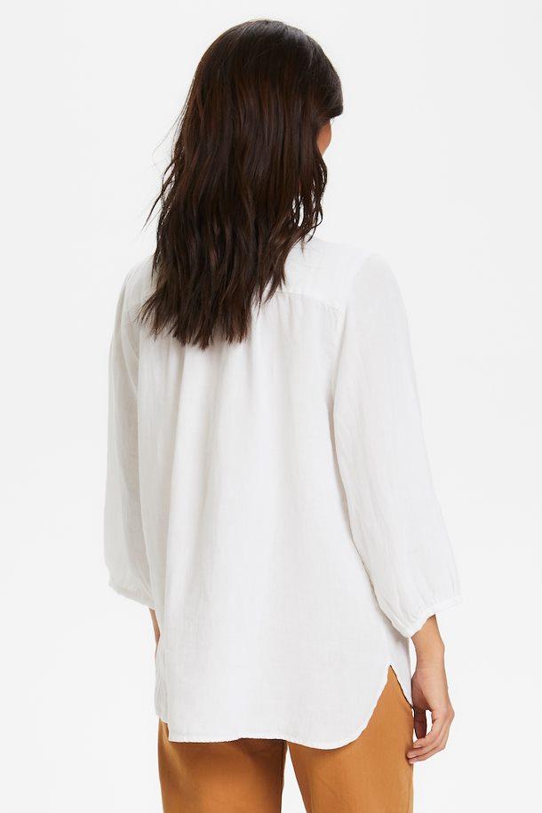 Part Two Lydia Linen Shirt Valkoinen