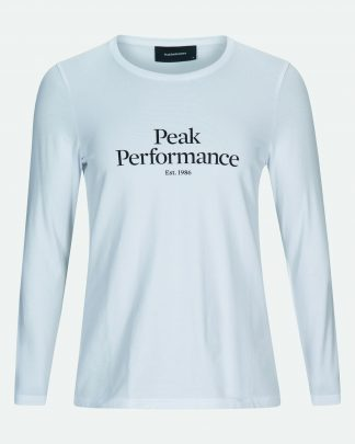 Peak Performance Original Ls Tee Vaaleanpunainen