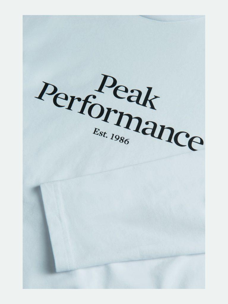 Peak Performance Original Ls Tee Vaaleanpunainen