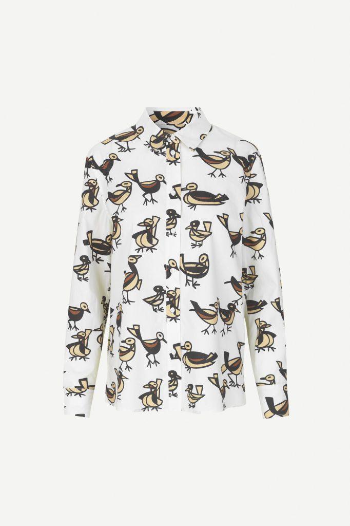 Samsoe&Samsoe Katla Shirt Lovebird