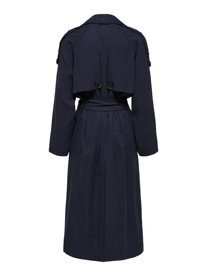Selected Femme Bren Trench Coat Sininen